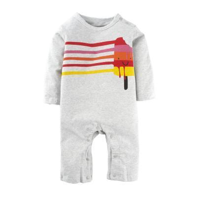 c29b823bb05 Baby Boys  One Piece Cute Graphic Print Long Sleeve Romper Pajama ...