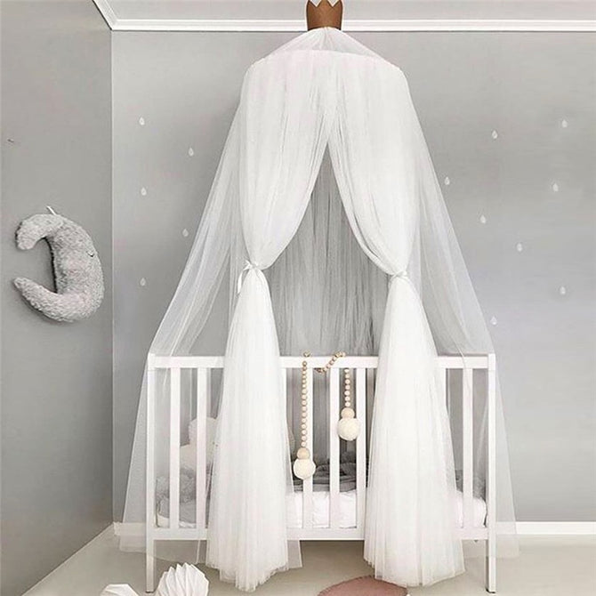 Baby Crib Netting Princess Dome Bed