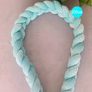 Baby Crib Bumper Knotted Braided