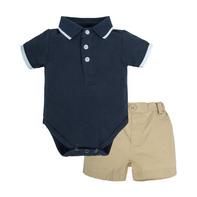 Baby Boys Short Sleeve Set