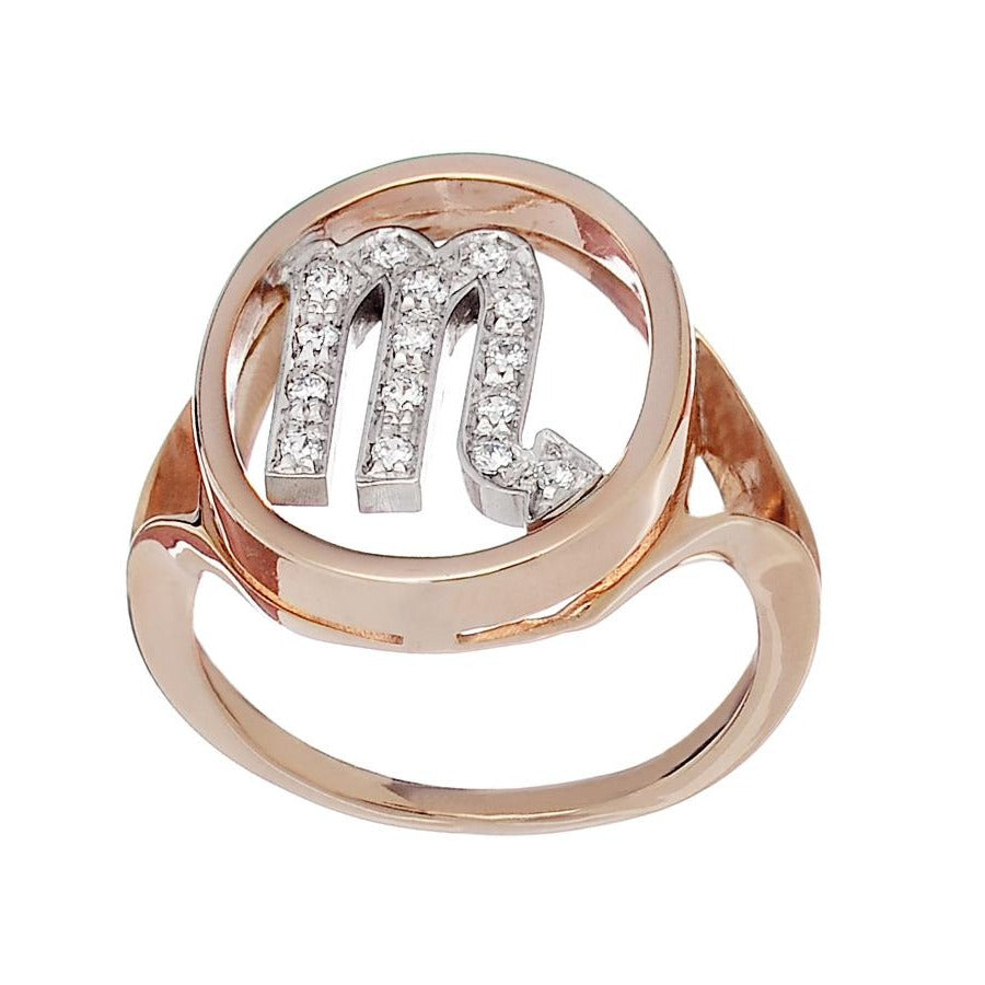 Astro Ring Scorpio - Spallanzani Jewelry