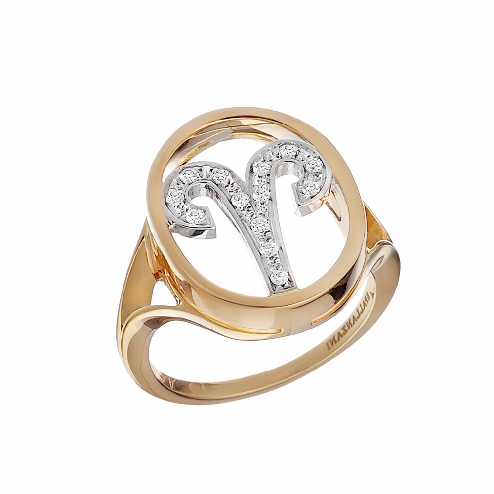 Only You  Astro Ring Aries - Spallanzani Jewelry