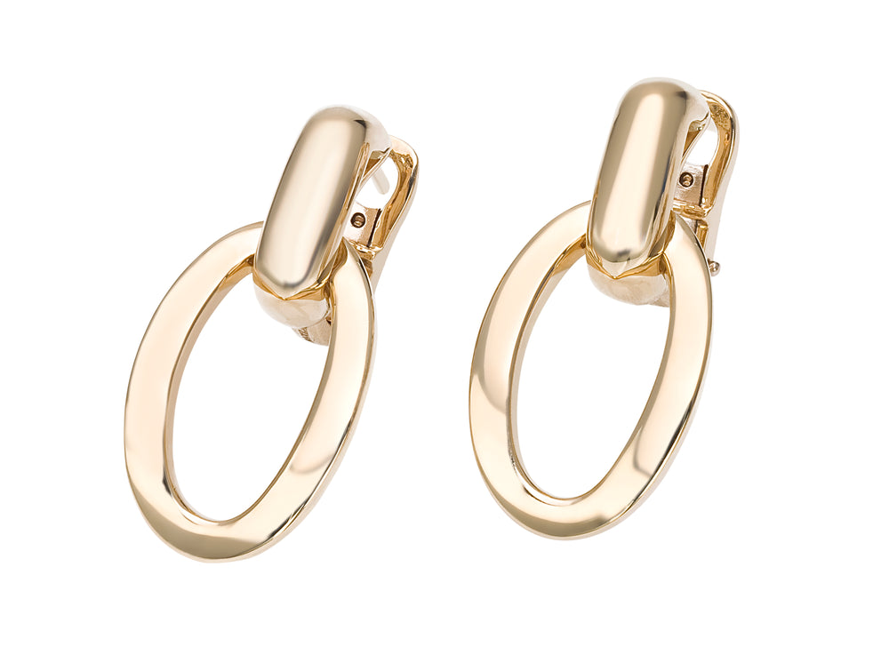 You&Me solid gold Earrings - Spallanzani Jewelry