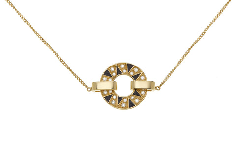 Stella geometric necklace - Spallanzani Jewelry
