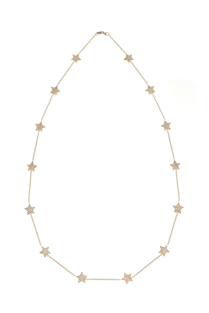 Stella Chain Necklace - Spallanzani Jewelry