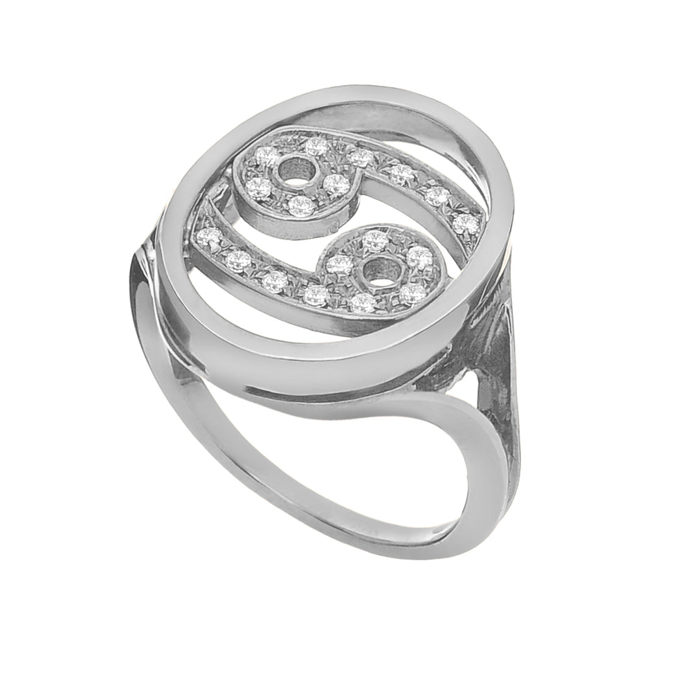 Astro Ring Cancer - Spallanzani Jewelry