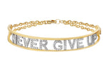 Only You Personalized Iconic Yellow Gold Bracelet - Spallanzani Jewelry