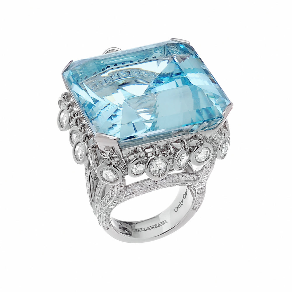 Blue Lagoon Ring - Spallanzani Jewelry