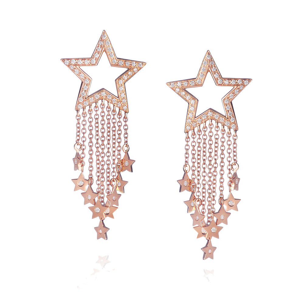 Stella Raining Star Earring - Spallanzani Jewelry