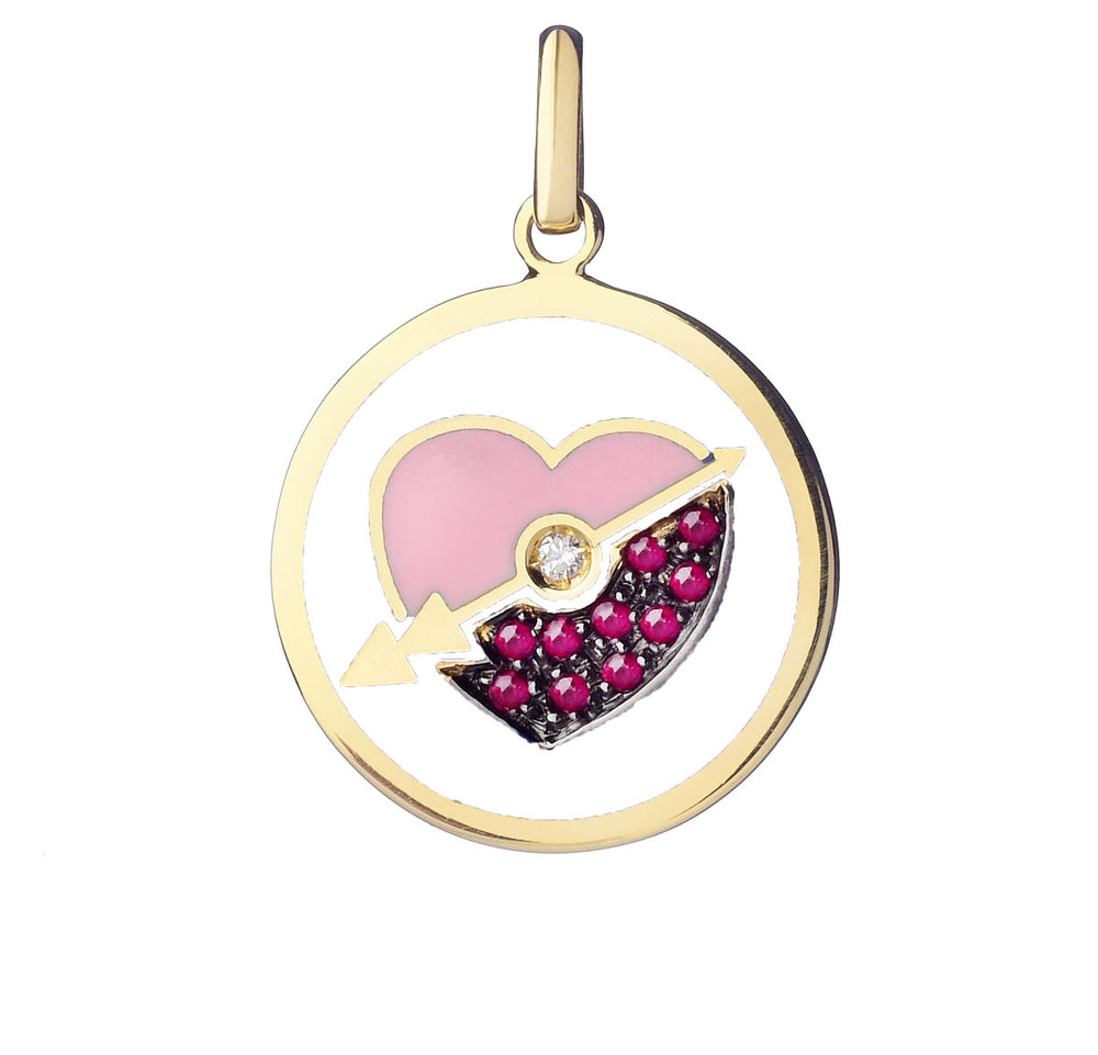 Believe Friendship Big Pendant - Spallanzani Jewelry