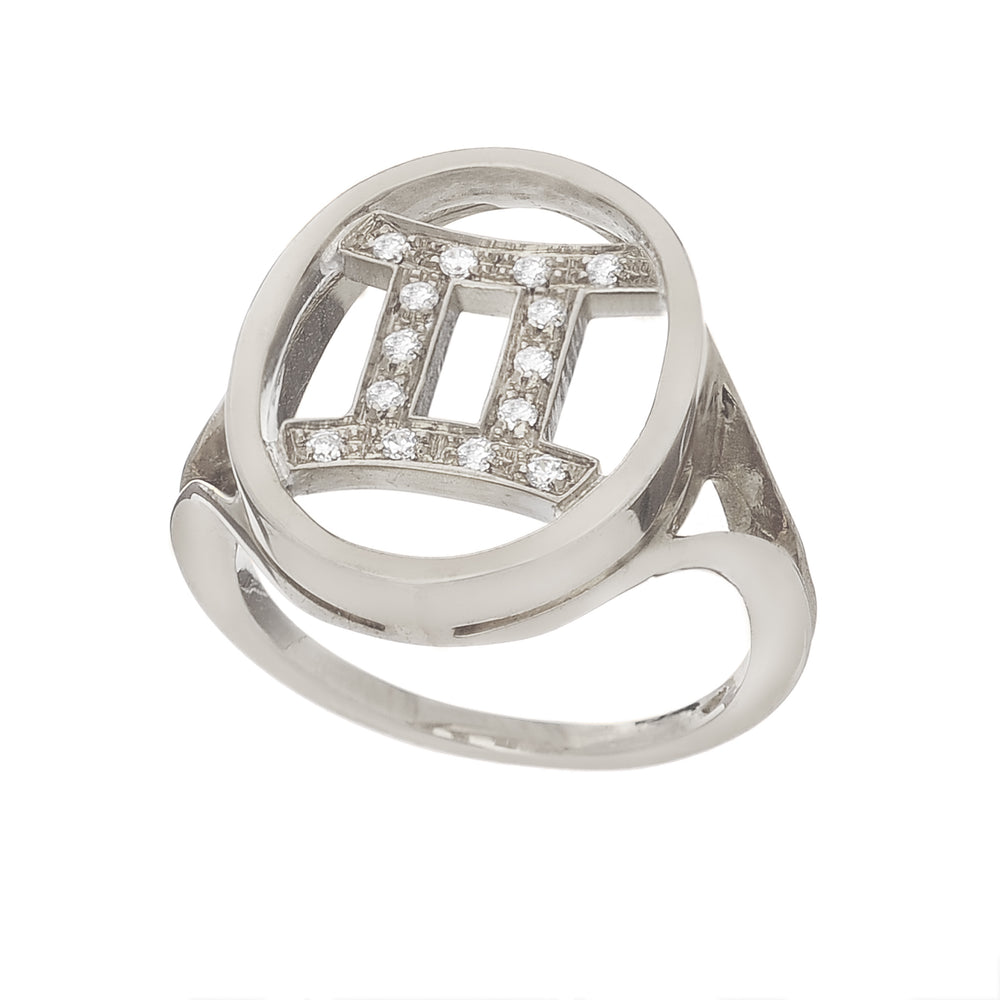 Astro ring Gemini - Spallanzani Jewelry