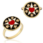 Believe Ring medal Love - Spallanzani Jewelry