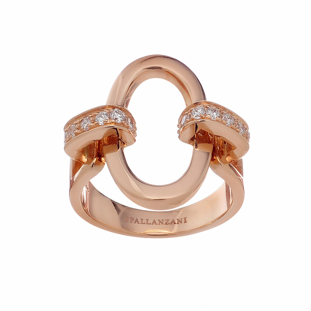 You&Me oval ring - Spallanzani Jewelry
