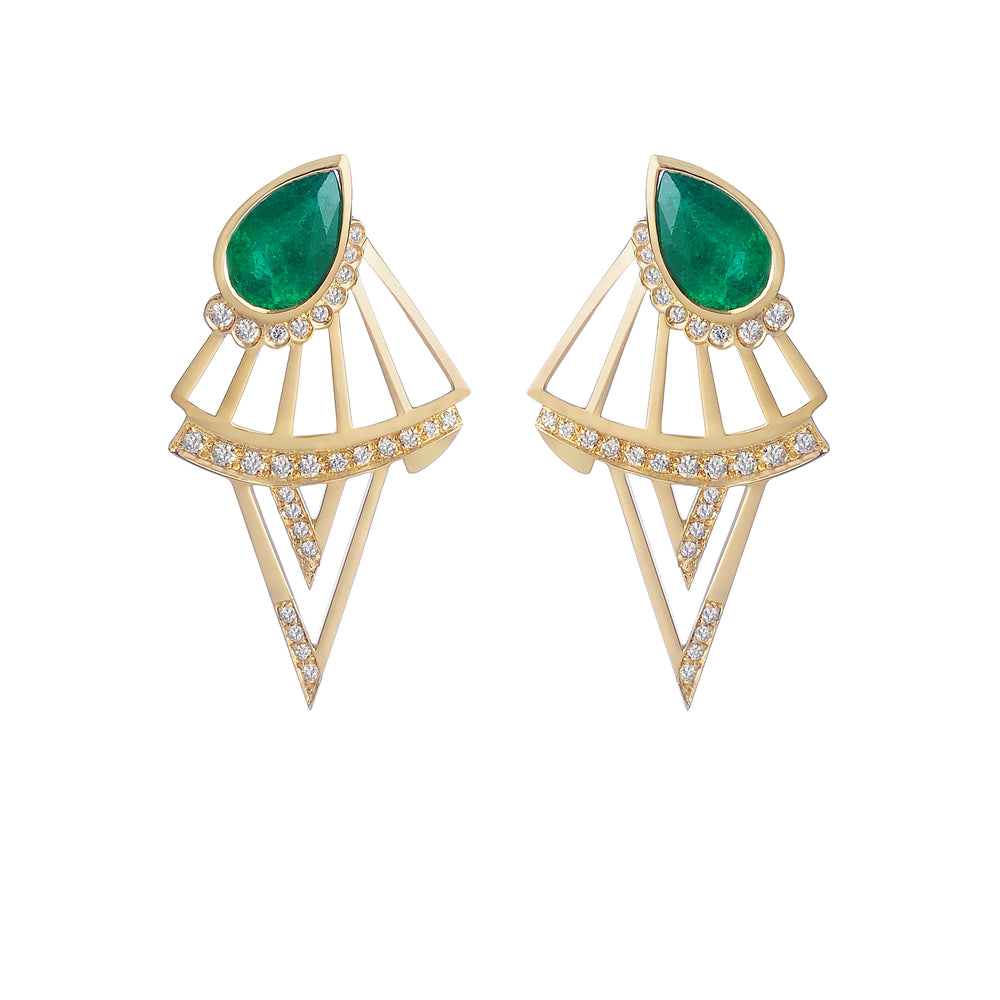 No Secret Earrings - Spallanzani Jewelry