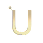 Only You Earring Big Letter - Spallanzani Jewelry