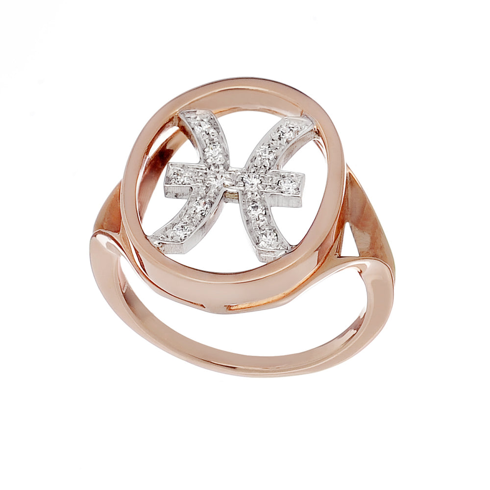 Only You Astro Ring Pisces - Spallanzani Jewelry
