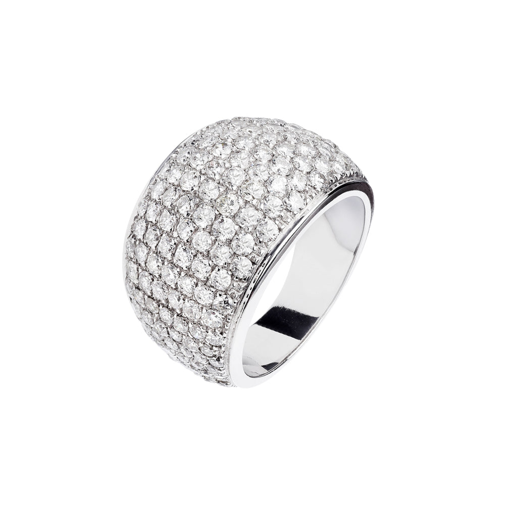 Pavé Ring - Spallanzani Jewelry