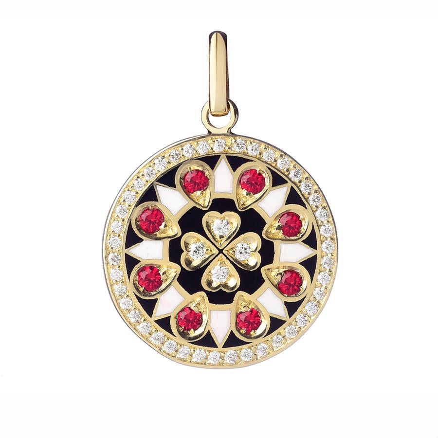 Believe Pendant diamond Luck - Spallanzani Jewelry