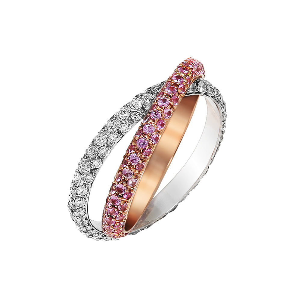 Double Eternity Band - Spallanzani Jewelry