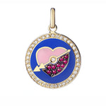 Believe Pendant diamond  Family - Spallanzani Jewelry
