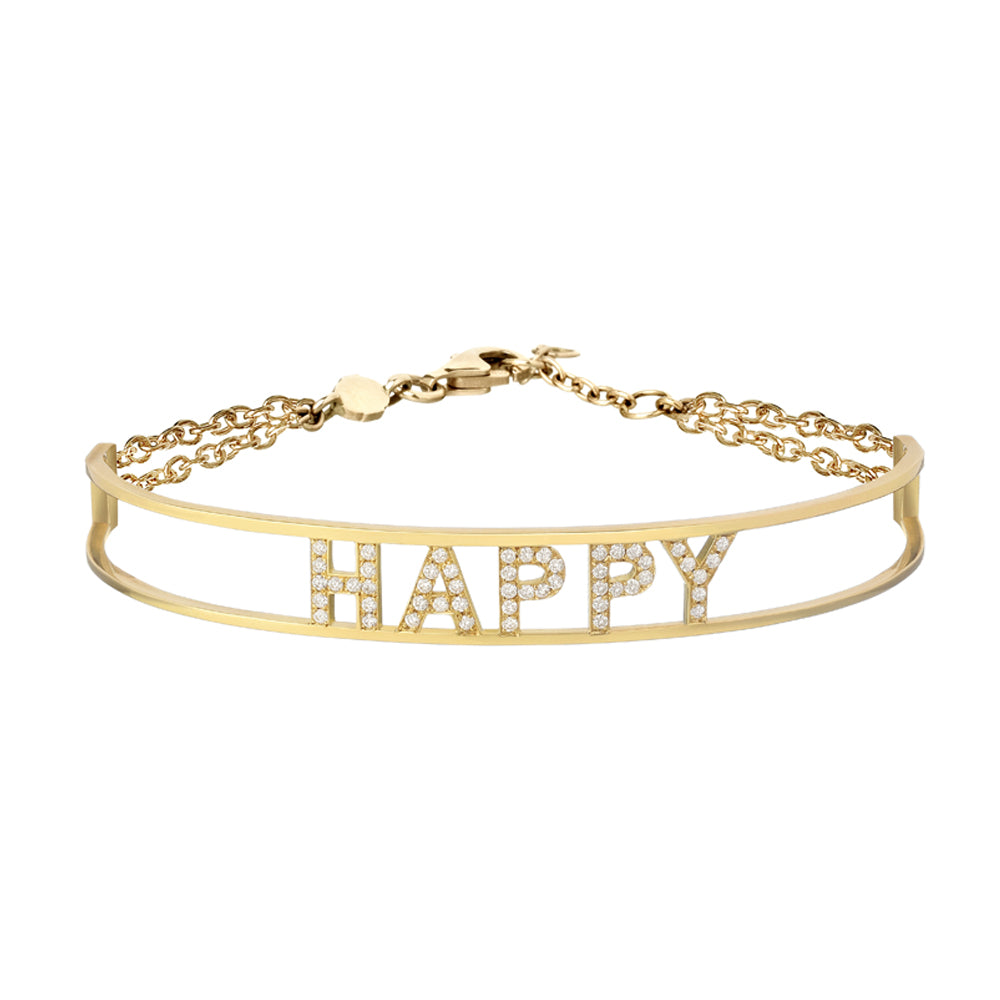 "Only You ""Happy"" Bracelet"