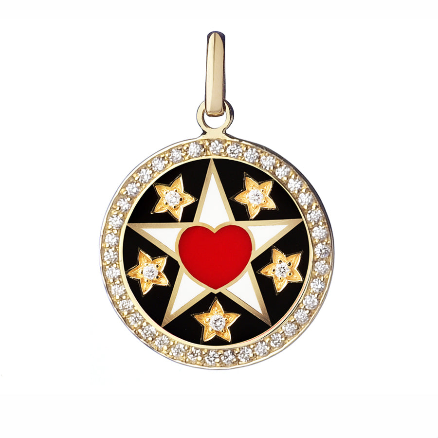 Believe Pendant diamond Love - Spallanzani Jewelry