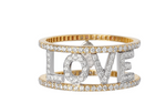Only You Ring Love - Spallanzani Jewelry