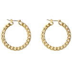 Manette hoop Earrings