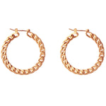 Manette hoop Earrings - Spallanzani Jewelry