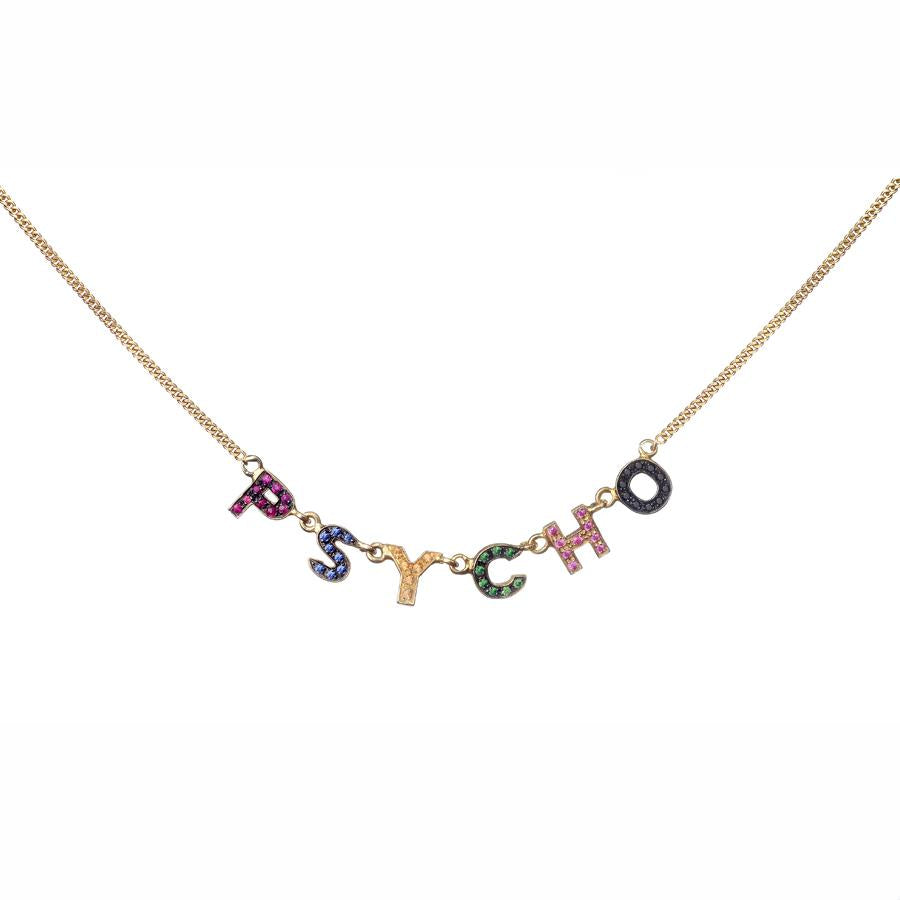 Only You Iconic Necklace Small Letters - Spallanzani Jewelry