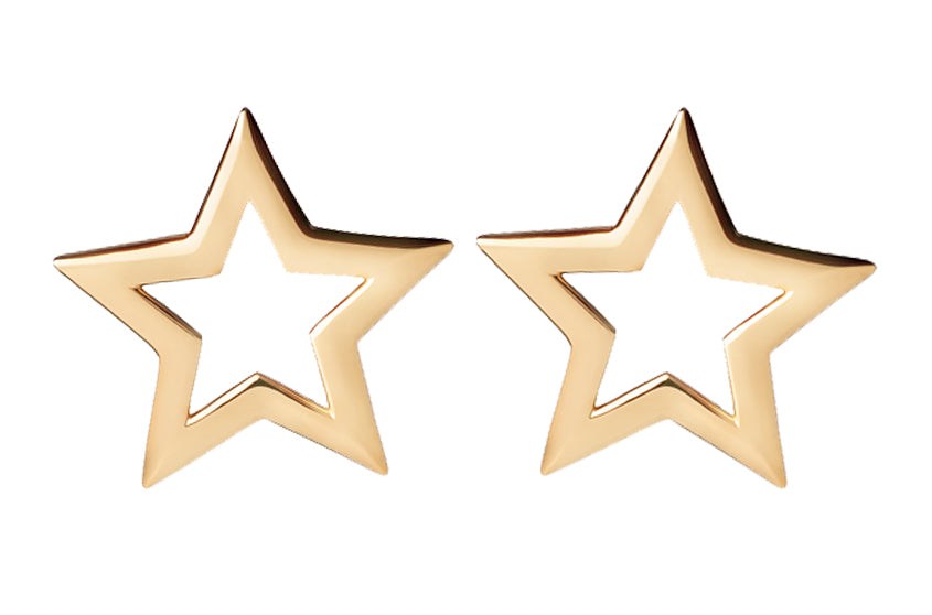 Stella Star Earrings - Spallanzani Jewelry