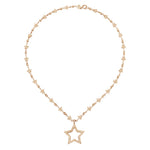 Stella  Drop Chain  Necklace