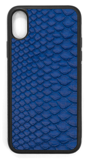 Python back Leather / cobalt