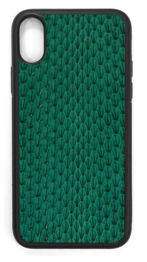 Whip Snake Leather / evergreen