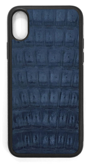 Crocodile Leather / gloss navy