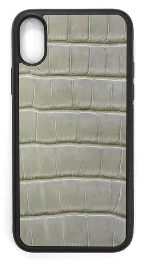 Alligator Leather / laurel green