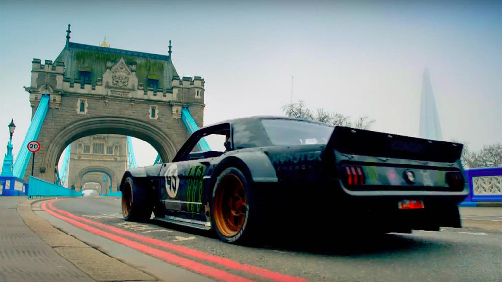 How to visit London with TheMenz? Powered by Ken Block, Copilot by Mat LeBlanc