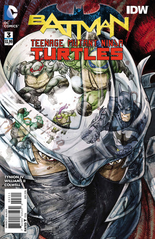 BATMAN TEENAGE MUTANT NINJA TURTLES #3