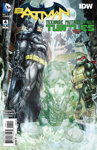 BATMAN TEENAGE MUTANT NINJA TURTLES #4