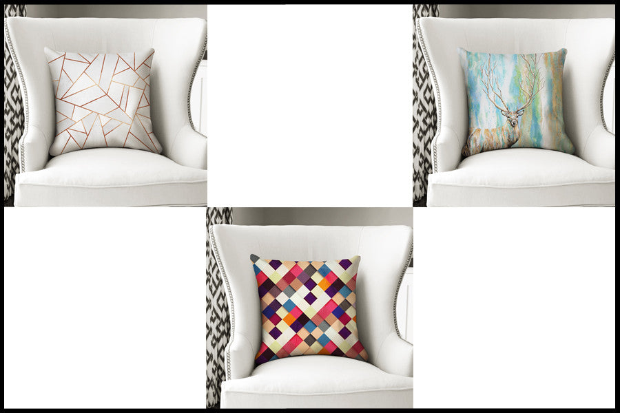 Artist Designed cushions now in stock!