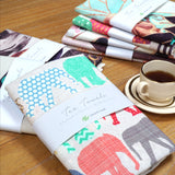 Create&Case Colourful Printed Tea Towel Sets