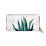 Agave Geometry - Womens Luxury Printed Vegan Purse Wallet