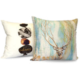 'Deer Tree' Watercolour Cushion