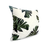 Stylish cushion covers, green banana leaf