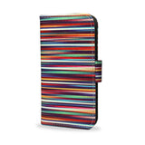 Google Pixel Leather Wallet Case Cover, createandcase, blurry lines