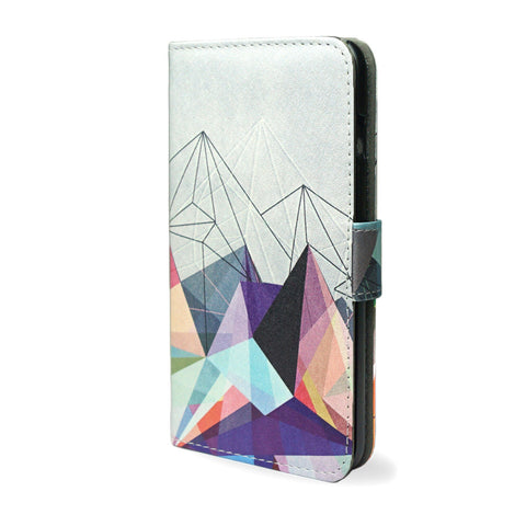 Colourflash 3 - S7 Edge unique vegan leather wallet case, s7 edge case, createandcase
