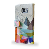 SALE 'Colourflash 3' Samsung Galaxy S6 Edge Plus Wallet Case, , Create&Case - createandcase