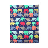 Elephants & Flamingos - Animal print tea towels, stylish housewarming gifts