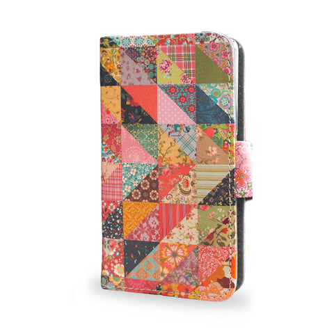 'Grandma's Quilt' Artist Designed Sony Xperia Z3 Compact Wallet Case, , Create&Case - createandcase