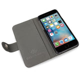 iPhone 6/6S leather wallet case, credit card with pockets for money